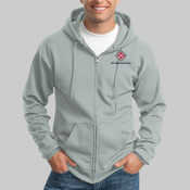 PC90ZHT.ise -  Tall Ultimate Full Zip Hooded Sweatshirt