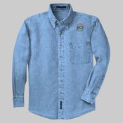 *S600* Long Sleeve Denim Shirt, Port Authorit